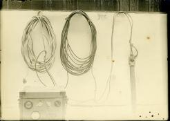 Trailing wire, Harvey Hayes Family Archives