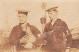 Crewmen, Wayne Anthony on right