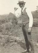 Crewman William F. Neurath in civilian clothes