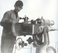 Poole deck gun