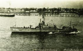 Submarine Chaser SC 188. T. Woofenden Collection