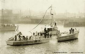 Submarine chaser SC 24. T. Woofenden Collection.