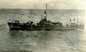 Submarine chaser SC 260. T. Woofenden Collection