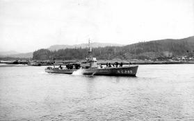 Submarine chaser SC 295. T. Woofenden Collection.