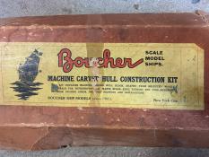 Boucher subchaser model kit box
