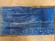 Boucher subchaser model kit plans
