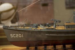 SC 201 model, Lyceum: Poole deck gun