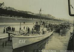 Submarine Chaser C-58: Marshal Foch visits Cologne